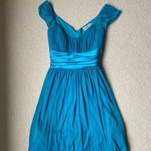 Blue Sweetheart Dress